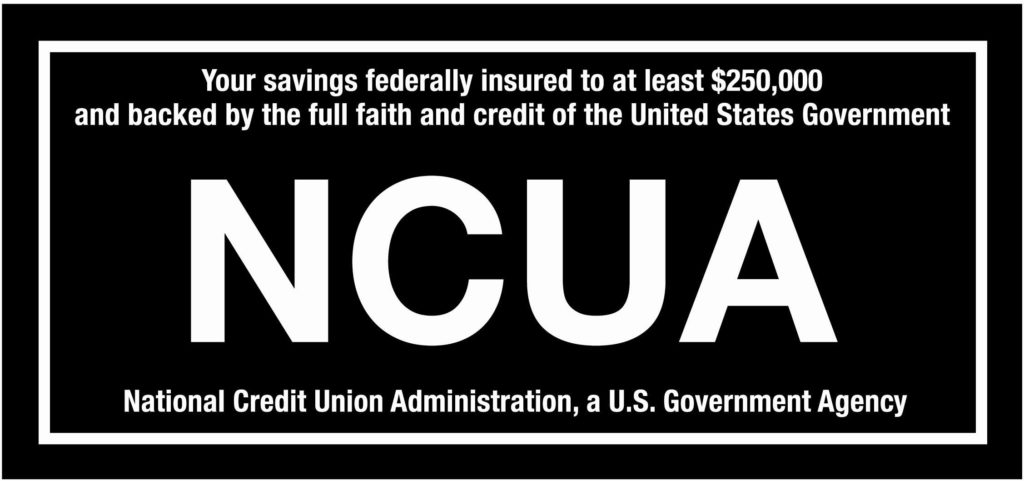 NCUA badge logo