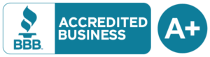 BBB Accredited Business A+ logo