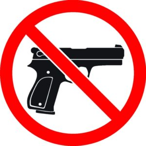 No Guns Allowed Symbol