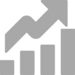 rates graph chart icon