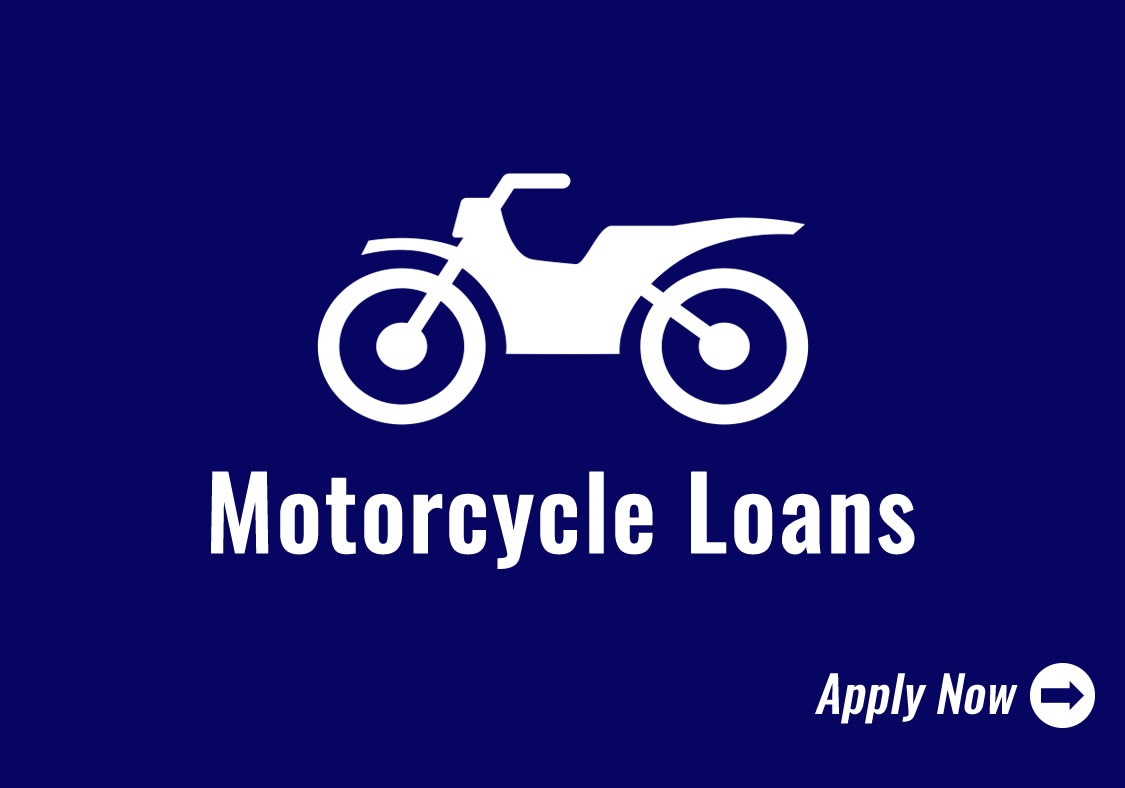 Motorcycle Loans Icon - Click to Apply Now