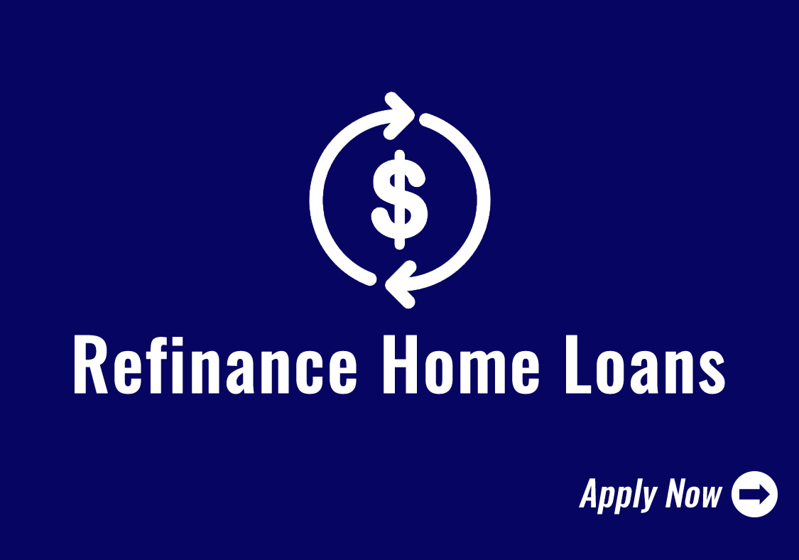 Refinance Home Loans Icon - Click to Apply