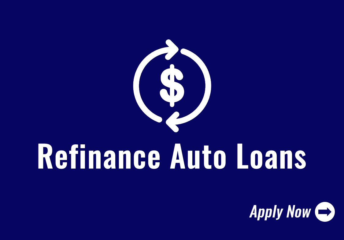 Refinance Auto Loans Icon - Click to Apply