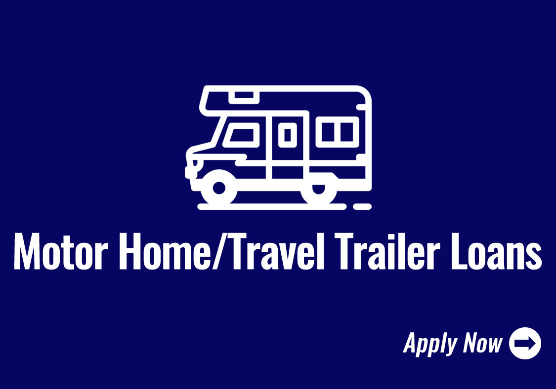 Motor Homes / Travel Trailer Loans Icon - Click to Apply