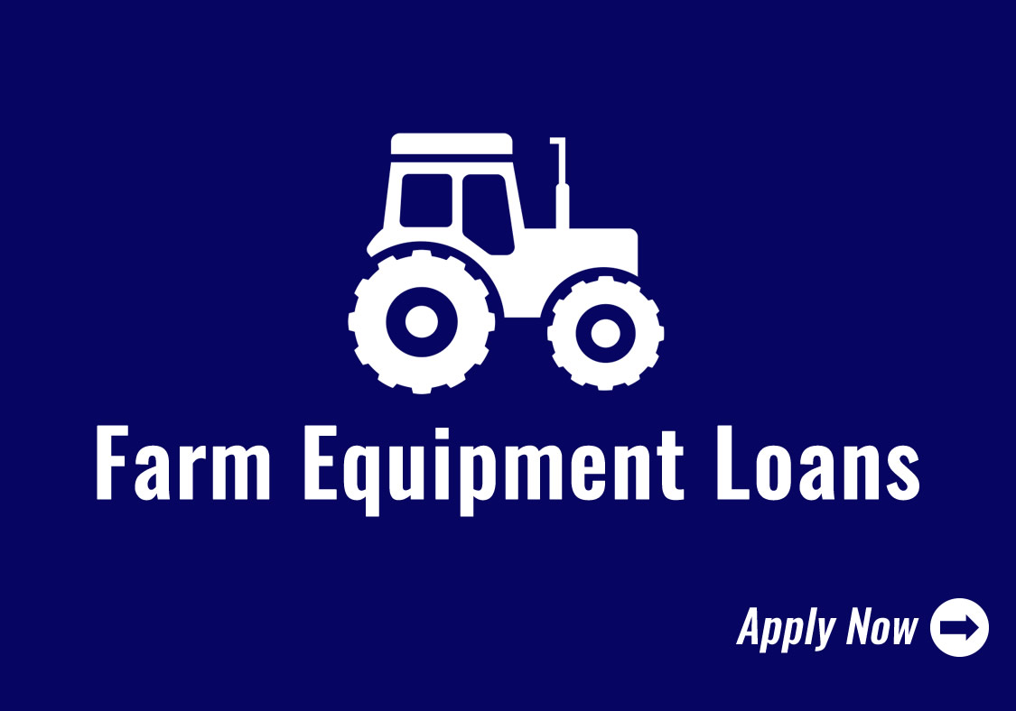 Farm Equipment Loans Icon - Click to Apply