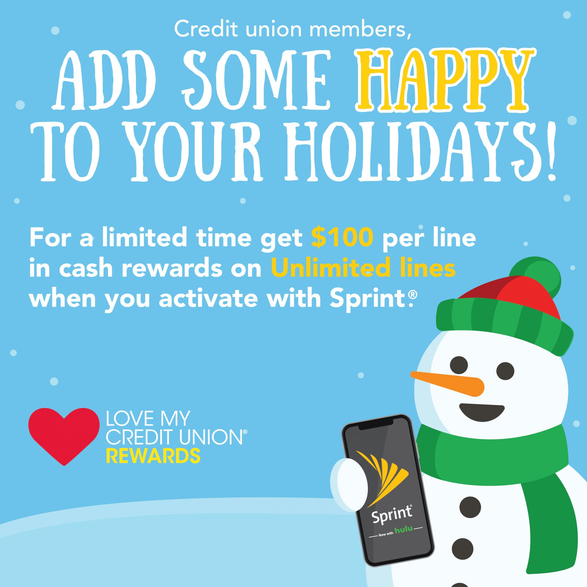 Sprint Holiday Promo