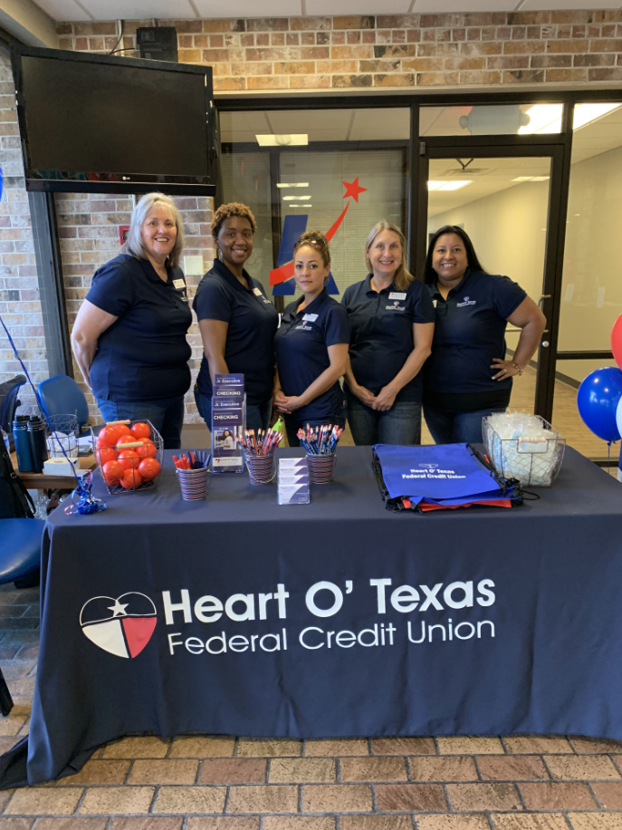 No more violence communit event heart o texas staff