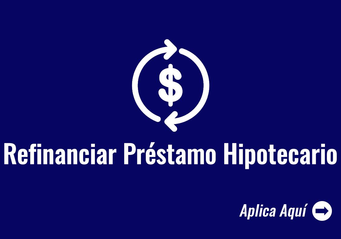 Refinance Home Loans Icon - Refinanciar Prestamo Hipotcaria
