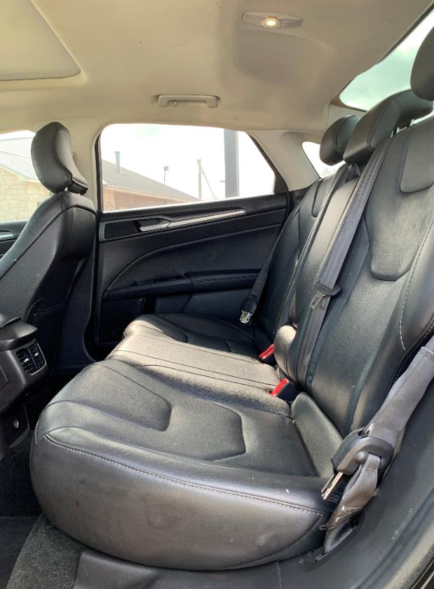 2016 black ford fusion sedan