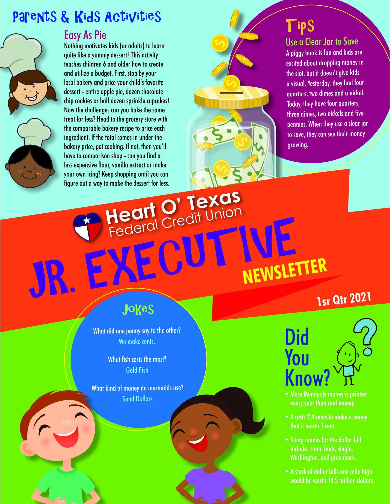 HOTFCU Jr Executive Newsletter 2021